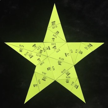 Estimating Square Roots (Star- Shaped Puzzle)