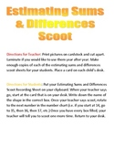 Estimating Sums & Differences Scoot