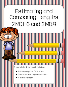 Estimating and Comparing Lengths Math Unit