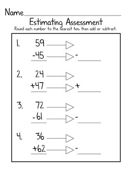 Estimation Assessment
