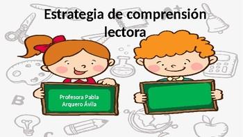 Estrategia de lecto - escritura Lenguaje figurado/ Reading