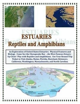 Estuaries of the United States: Reptiles & Amphibians (Fus