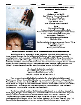 Eternal Sunshine of the Spotless Mind Film (2004) Study Gu