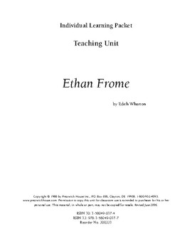 Ethan Frome Teaching Unit
