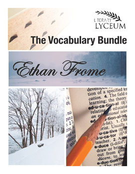 Ethan Frome Vocabulary Bundle