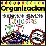 "Etiquetas-Gabetero ""Sterilite"""