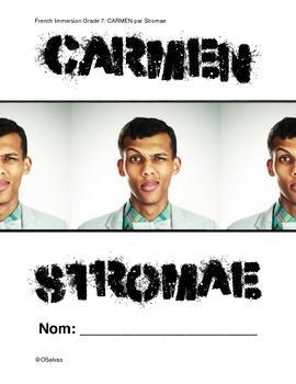 Etude de CARMEN par STROMAE (Reseaux sociaux)