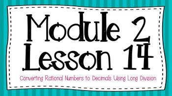 Eureka Engage NY Module 2 Lesson 14 7th Grade