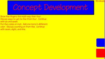 Eureka First Grade Math Module 1 Lesson 3 ActiveInspire Flipchart