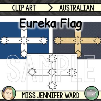 Eureka Flag Clipart
