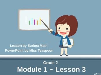 Eureka Math - 2nd Grade Module 1, Lesson 3 PowerPoint