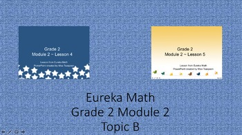 Eureka Math - 2nd Grade Module 2, Topic B PowerPoints
