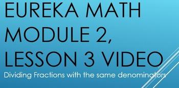 Eureka Math 6th Grade - Module 2, Lesson 3