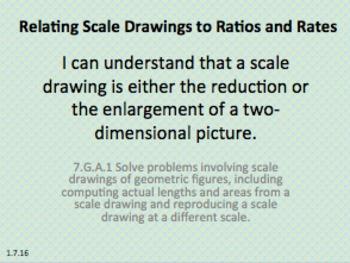Eureka Math 7th grade Module 1 Lesson 16 Scale Drawings