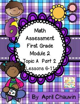 Eureka Math Assessment First Grade  Module 2 Topic A Part
