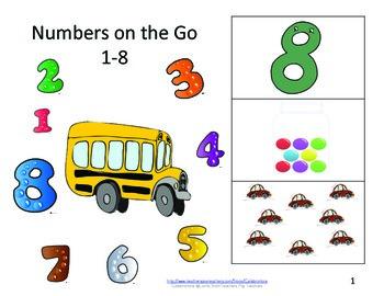 Eureka Math Books- Numbers 1-8