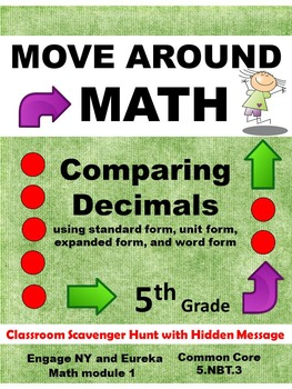Eureka Math Engage NY Grade 5 Module 1 Review Scavenger Hu