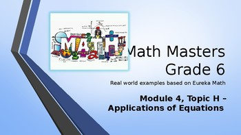 Eureka Math (Engage NY) Introductory PowerPoint - Gr 6, M4