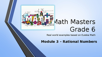 Eureka Math (Engage NY) Introductory PowerPoint - Grade 6,
