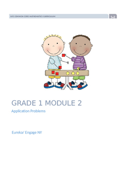 Eureka Math Engage New York Grade 1 Module 2 Application Pack