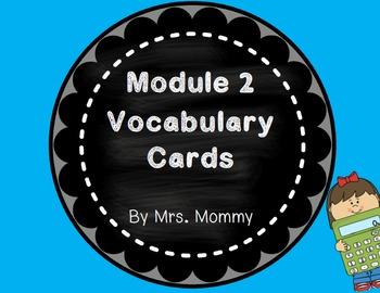 Eureka Math (Engage New York) Vocabulary Cards 2nd Grade Module 2