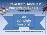 First Grade Eureka Math Module 2 PowerPoint Bundle (Place Value)
