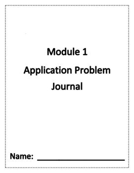 Eureka Math Grade 1 Module 1 Application Problem Journal