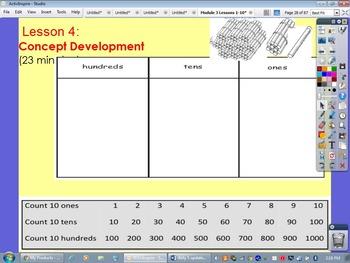 Eureka Math / Engage NY, Grade 2, Module 3, Lessons 1-10 F