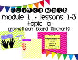 Eureka Math Module 1, Lessons 1-3 for Promethean Board ~ 1
