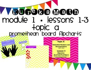 Eureka Math Module 1, Lessons 1-3 for Promethean Board ~ 1