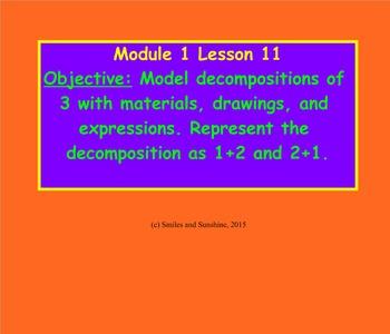 Eureka Math Module 1 Lessons 11-15