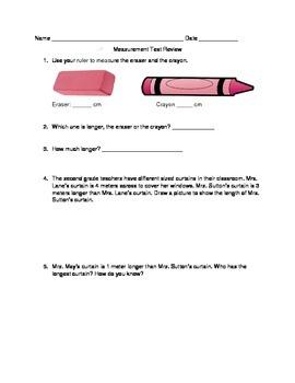 Eureka Math Module 2 Test Review second grade