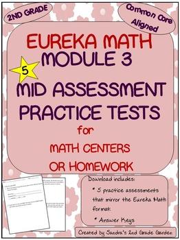 2nd Grade Eureka Math Module 3 Mid Module Assessment Pract