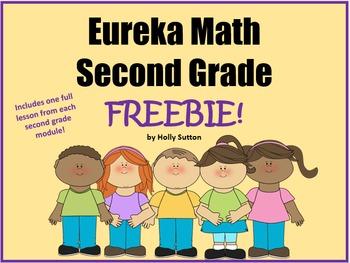 Eureka Math Second Grade Lesson Freebies