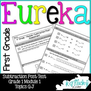 Eureka Math Grade 1 Module 1 Subtraction Assessment