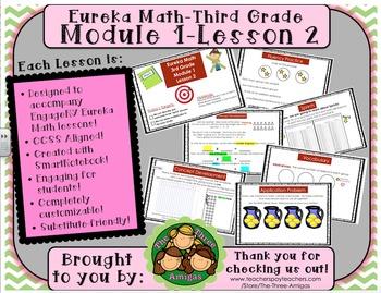 M1L02 Eureka Math-Third Grade: Module 1-Lesson 2 SmartBoar