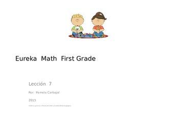 Eureka Math, Unit 1, Lesson 7 in Spanish