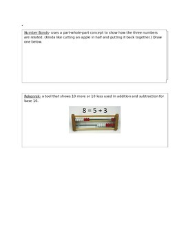 Eureka Math Vocabulary