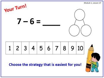 Eureka Math (aka Engage New York) First Grade Module 1 Les
