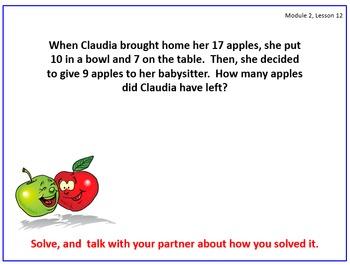 Eureka Math (aka Engage New York) First Grade Module 2 Les