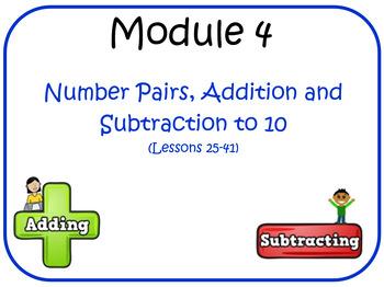 Eureka Math (aka Engage New York) Kindergarten Module 4 Le