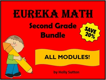 Eureka Math (aka Engage New York) Second Grade Bundle- ALL