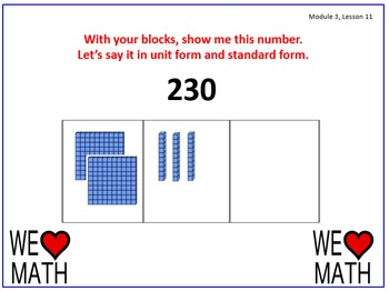 Eureka Math (aka Engage New York) Second Grade Module 3 Le