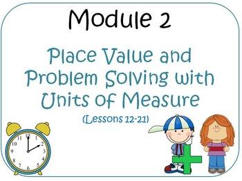 Eureka Math (aka Engage New York) Third Grade Module 2 Les