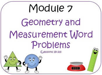 Eureka Math (aka Engage New York) Third Grade Module 7 Les