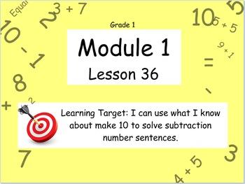Eureka Math (or Engage New York) Module 1 Lesson 36