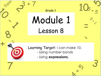 Eureka Math (or Engage New York) Module 1 Lesson 8