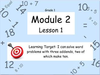 Eureka Math (or Engage New York) Module 2 Lesson 1