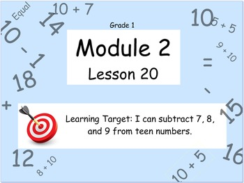Eureka Math (or Engage New York) Module 2 Lesson 20