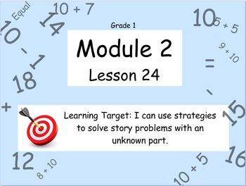 Eureka Math (or Engage New York) Module 2 Lesson 24